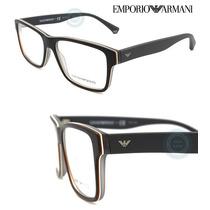 Armazon Oftalmico Emporio Armani Ea3059 Top Black Matte Grey