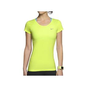 Playera Blusa Nike Dri-fit Gym Amarillo Neon