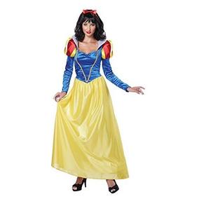 Disfraz Blancanieves Princesa Adulto Talla Chica Premium