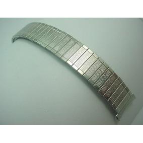 Pulseira Relógio Bulova Original Aço Inoxidável Elástica 19m