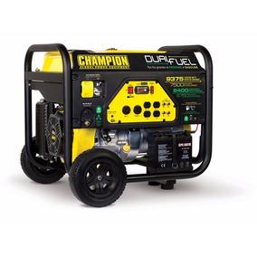 Planta De Luz Generador Champion 9375 / 7500w Gas Y Gasolina