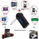 Receptor Bluetooth Adaptador 3.5m Para Autoradio Y Equipos