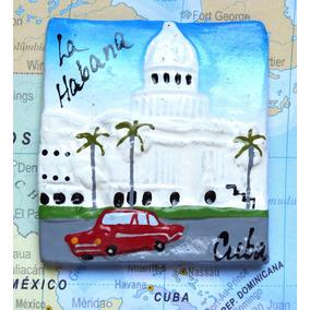 Cuba - Capitolio 8 - Carro 3 - Havana - Imã De Geladeira