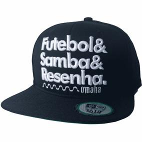 2116d661c14e6 Bone Samba - Bonés Masculinos con Mercado Envios no Mercado Livre Brasil