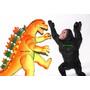 Pack King Kong Vs Godzilla Juguete Muñeco Regalo Día Niño