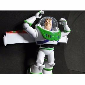 Buzz 26cm Boneco Toy Story Articulado Fala E Luz