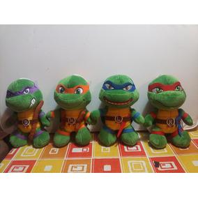 Tortugas Ninjas Peluches Originales 25 Cm