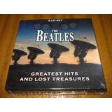 Cd The Beatles / Greatest Hits.(nuevo Y Sellado) 4 Cds Eu