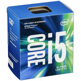 Procesador Intel Intel Core I5-7400 4 Nucleos Lga1151, 6 Mb