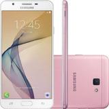 Celular Samsung J7 Prime Rosa G610m Tela 5,5´´, Memória
