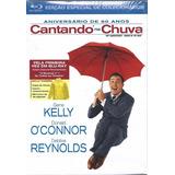 Blu Ray Gift Set Cantando Na Chuva C/ Cards Livro Capa Chuva