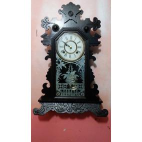 Antigo Relógio Ansonia De 1882 Mod Capelinha Semi Carrilhão