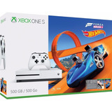Xbox One S, 500gb Con Juego Forza Horizon 3 Hot Wheels - Bun