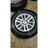 Aros 17 Toyota Originales Con Llantas 265/65r17 Dunlop A/t