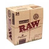 Caixa Seda Raw Organica Com Filtro/piteira Papel King Size