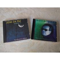 Cd Sons Da Paz - Serginho Sá - Música Para Relax E Meditação
