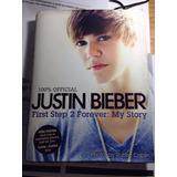 Libro Justin Bieber Tapa Dura 100% Original