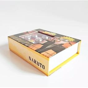 Kit Anel Akatsuki Com 10 Anéis - Naruto Coleção Brinde