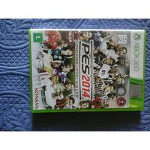 Pes 2014 Original Para Xbox 360 Em Bom Estado