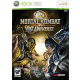Juego Xbox 360 Warner Bros Mortal Kombat Vs Dc Universe