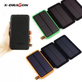 Cargador Solar 300000mah Externo 3 Panel Power Bank Batería