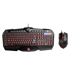 Teclado + Mouse Tt Esports Combo Challenger Rgb Sp Gamer