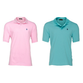 Pack 2 Playeras Tipo Polo - Polo Club