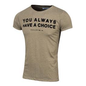 Remera Choice, Estampada, De Jersey, Valkymia
