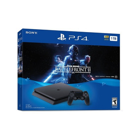 Sony Playstation 4 Super Slim 1tb+juegostarwarsbattlefront 2