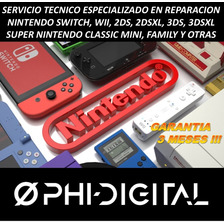 Servicio Técnico Nintendo Switch Wii 2ds 3ds Snes Family