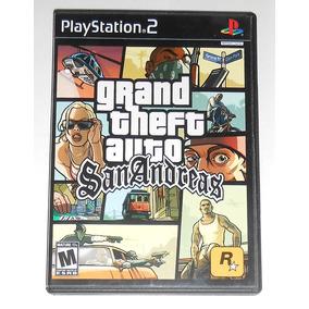Gta Grand Theft Auto San Andreas Original C/ Mapa Ps2