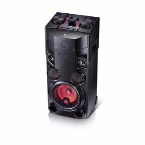 Minicomponente Lg Om5560 600 W Bluetooth Doble Usb Karaoke