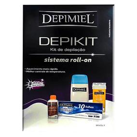 Kit Depilação Bivolt Depimiel
