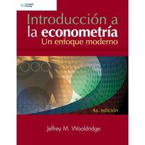 Introducción A Econometría Enfoque Moderno 4ª Ed Digital