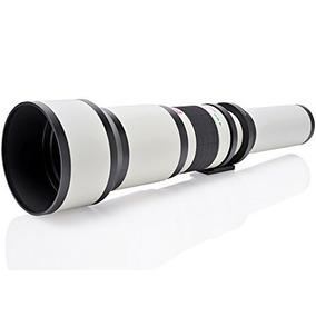 Opteka 650-1300mm (con 2x- 1300-2600mm) Teleobjetivo Zoom Pa