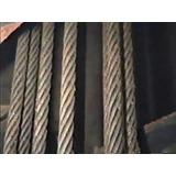 Cable De Acero (guaya) Para Puente Gruas Y Polipastos