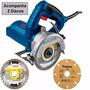Serra Marmore 220v Bosch Gdc150 1d Diaman +1d Mad Makita
