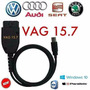 Cabo Vag 15.7 Scanner Obd2 Usb Audi Golf Vw Com Software