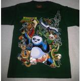 Franela Kung Fu Panda 3 La Pelicula Talla 4