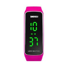 Relógio Feminino Skmei 1119 Digital Rosa Com Nf