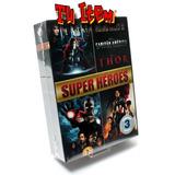 Iron Man Capitán América Thor Dvd Boxset Original Marvel +
