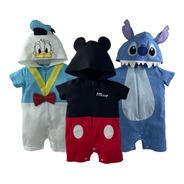 Kit Disney Pañaleros Donald, Mickey Y Stich