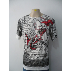 Camisa São Jorge Branca / Vermelha