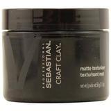Sebastian Craft Clay Remoldable Matte Texturizer Unisex, 1.7