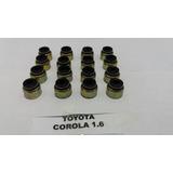 Gomas De Valvulas Toyota Corolla 1.6 1.8 Araya Avila Metal
