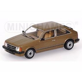 Miniatura Opel Kadett 1979 Marrom Metálico 1:43 Minichamps