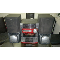 Modular Sony Mod Lbt-lx6,doble Cassettera,5cds,guitarra Elec