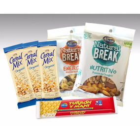 Deportivo Turron Arcor Cereal Mix Y Arcor Natural Break