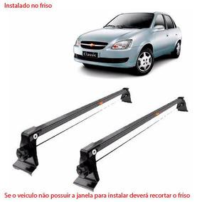 Rack De Teto Bagageiro Aço Chevrolet Corsa Classic 2012