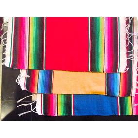 Sarape De Saltillo Miniatura Artesanía 100% Mexicana 35x45cm